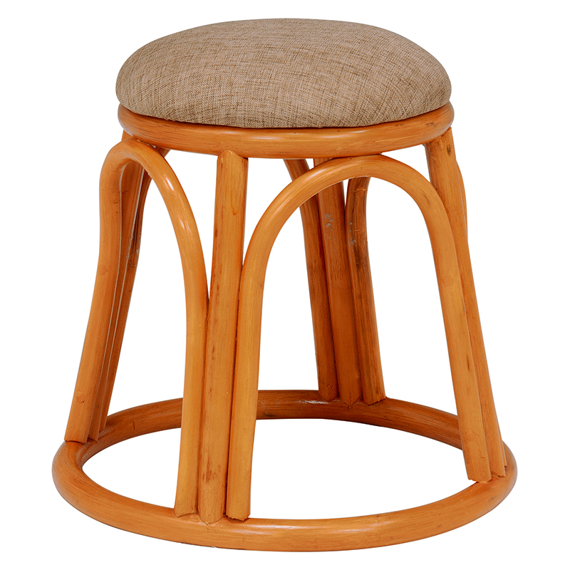 【送料無料】スツール RH-988BE (約)幅40×奥行40×高さ40cm ■4セット ■ベージュ | 家具 おしゃれ インテリア 椅子