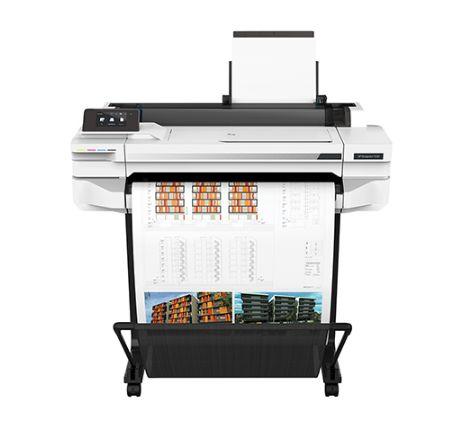 【プロッター】HP Designjet T530 24inch ePrinter インクジェットプリンター 5ZY60B#ABJ | 2020 印刷 大型 設計 図面 デザインジェット 軽量 最小 小型 カラー インク 鮮やか カラフル スピード印刷 スペース活用 大判プリンター