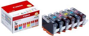 【送料無料】 キャノン BCI-7e BK/Y/M/C/PM/PC 6色パック 純正インク | キヤノン Cannon Canon インク 純正 プリンター 新品 インクジェット 2020 キャッシュレス 還元