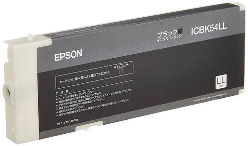 【送料無料】 エプソン ICBK54LL ブラック 純正インク   PX-B500 PX-B510 PX-B50C4 PX-B51C6 EPSON えぷそん インク 純正 プリンター 新品 インクジェット 黒 2020 キャッシュレス 還元