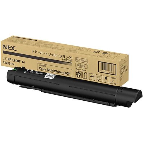 【送料無料】 NEC PR-L600F-14 純正トナー ブラック | NEC トナー 純正 カートリッジ 新品 2020 キャッシュレス 還元