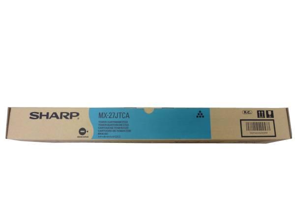 【送料無料】 シャープ MX-27JTCA リサイクルトナー シアン・【MX27JTCA】   SHARP リサイクル トナー recycle toner カートリッジ 年賀状 印刷 2020 写真 キャッシュレス 還元