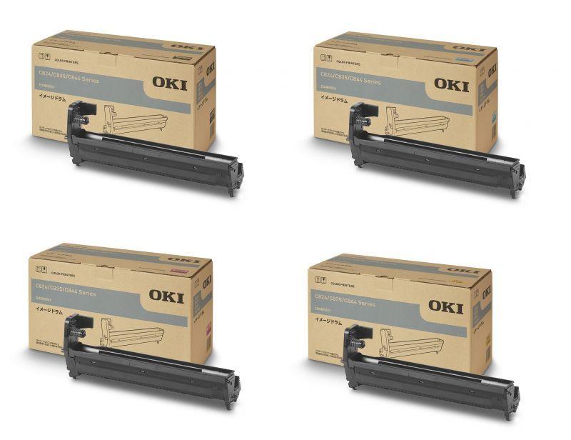 OKI(沖データ) DR-C3B 純正ドラム 4色セット