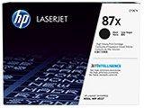 【送料無料】 HP 87X 純正トナー CF287X ブラック【大容量】 | エイチピー HP トナー 純正 カートリッジ 新品 黒