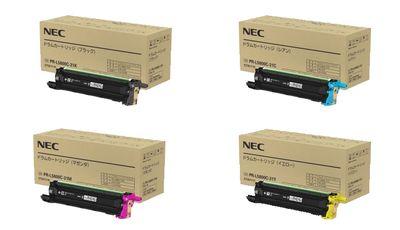 【送料無料】 NEC PR-L5800C-31 純正ドラム 4色セット | NEC 純正 セット SET 新品 年賀状
