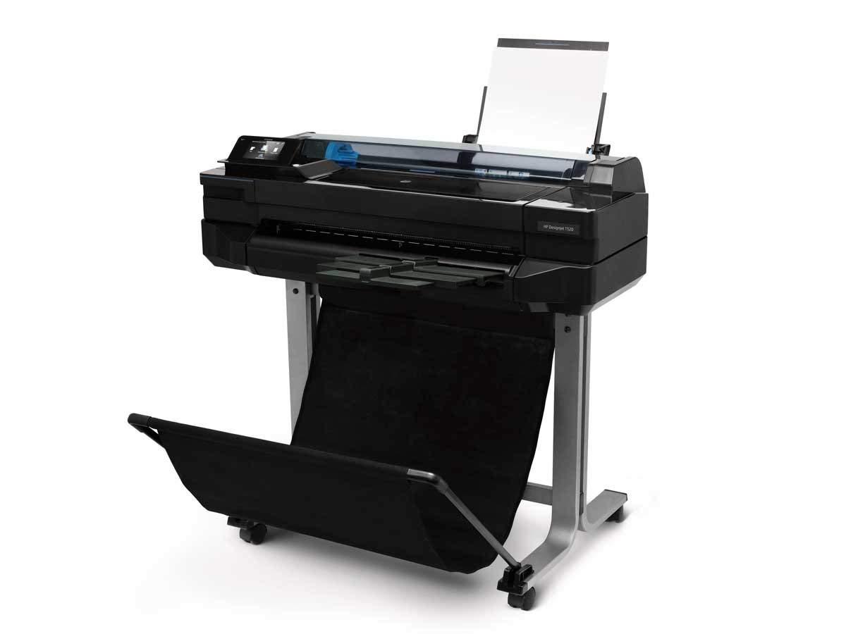 【プロッター】HP Designjet T520 24inch ePrinter インクジェットプリンター CQ890A | 2019 印刷 大型 設計 図面 デザインジェット 軽量 最小 小型 カラー インク 鮮やか カラフル スピード印刷 スペース活用 大判プリンター