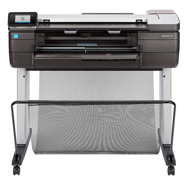 【プロッター】HP DesignJet T830 MFP A1モデル ePrinter インクジェットプリンター F9A28B | 2020 印刷 大型 設計 図面 デザインジェット 軽量 最小 小型 カラー インク 鮮やか カラフル スピード印刷 スペース活用 大判プリンター キャッシュレス 還元