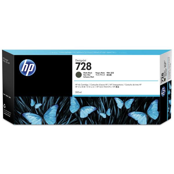 【送料無料】HP728 インクカートリッジ 純正 ブラック F9J68A 300ml | エイチピー HP インク 純正 カートリッジ 新品 黒 キャッシュレス 還元