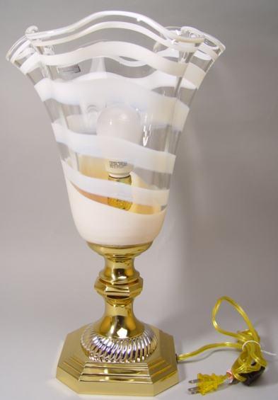 ウォターフォード 卓上ランプ(ホワイト)