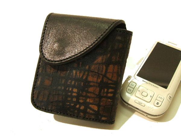 ソルト・アンド・シュガー 財布 メンズ クラックレザーウォレット TR-20023 黒x茶 新品