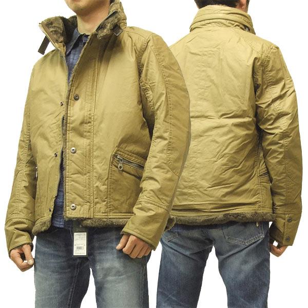 マークストア ジャケット mark store 顔料+樹脂コーティング メンズ ライダースJKTタイプ 8004-97610 #1(33)D.ベージュ 新品