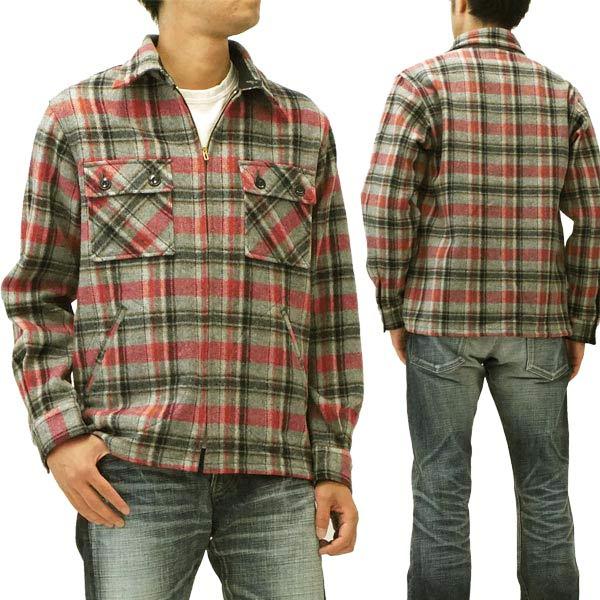 シュガーケーン ウールメルトン シャツジャケット 東洋エンタープライズ メンズ 長袖シャツ sc12644 #115グレー 新品