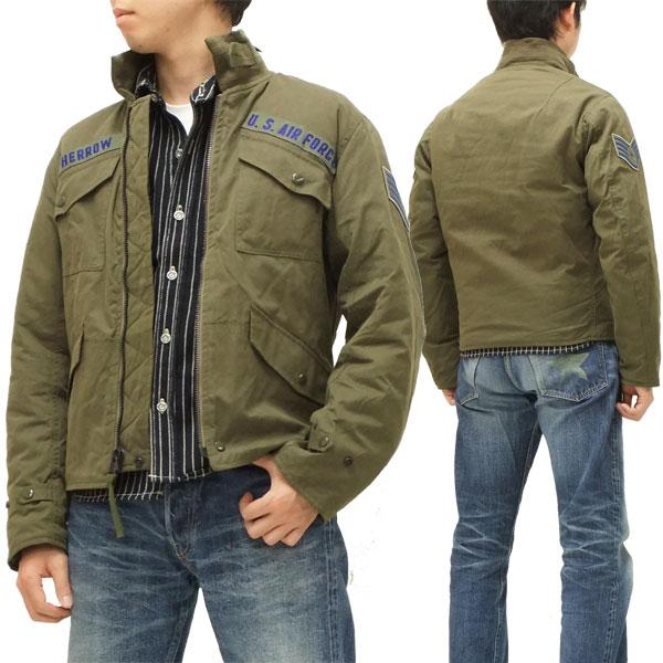 Fellows military flight jacket pherrows 12w-cwu-7/p-p 12w-cwu-7p-p olive new