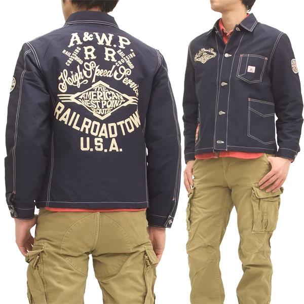 GROOVERS ワークジャケット グルーヴァーズ 64クロス メンズ カバーオール 318101 紺 新品