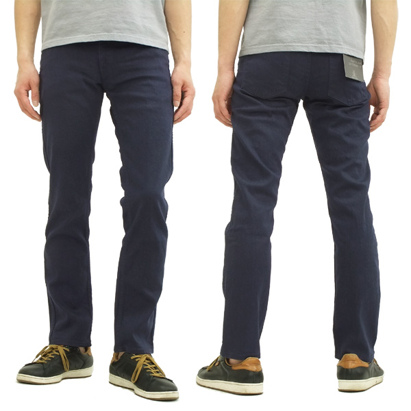 日本蓝色牛仔裤切裤子叔叔日本蓝色牛仔裤男装 9 分钟长度 JB3100 海军新