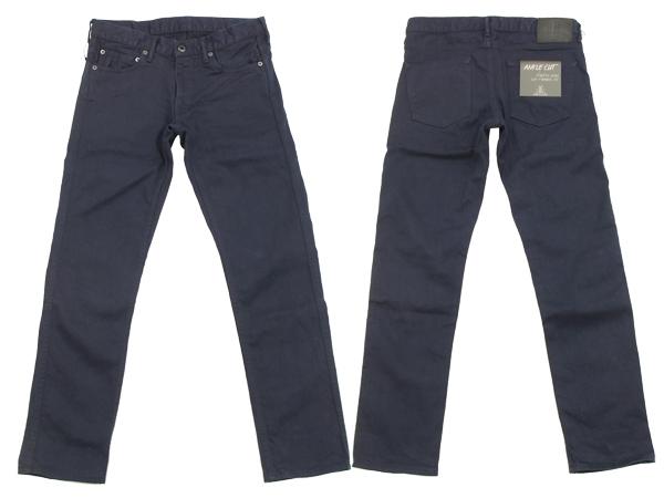 日本藍色牛仔褲切褲子叔叔日本藍色牛仔褲男裝 9-品牌新 JB3100 海軍