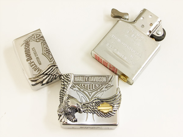Harley-Davidson Zippo lighter HDP-16 brand-new from Japan