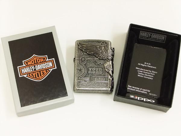 Harley-Davidson Zippo lighter HDP-28 brand-new