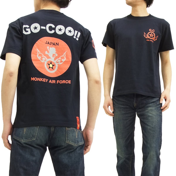 e429d0b9 Goku T shirt GO-COO! Air monkey ear force Goku sky honpo mens short sleeve  tee GBGT-67400