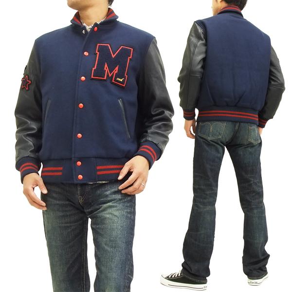 McGREGOR Varsity Jacket 111135601 men's award JKT navy brand-new from Japan