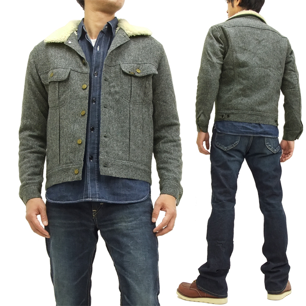 New Ls1172 With Jacket Woolrich Lined Boa Rider Storm Grey Lee 242 Brand Blue Men's A5Lj4R