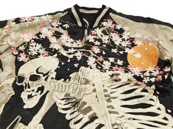 新旅行音樂團隊龍子自衛雜訊干擾條件-003 櫻桃右顱腳本腳本男子紀念品外套是黑色的花