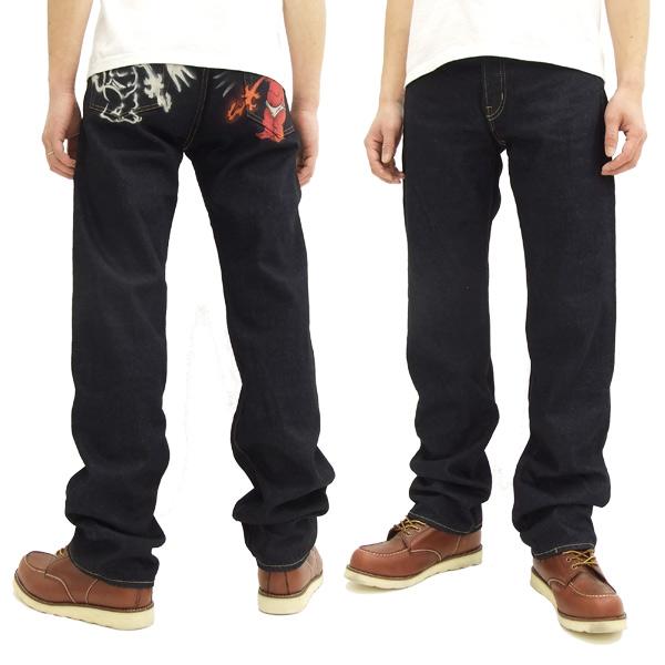 テッドマン ヒップペイントジーンズ DEVIL-003 参号 devil003 3号 メンズ デニムパンツ 新品