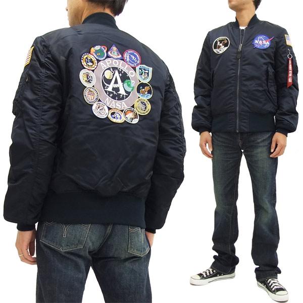 b3dc2eee Pine-Avenue Clothes shop: Alpha Industries Apollo MA-1 Flight Jacket ...