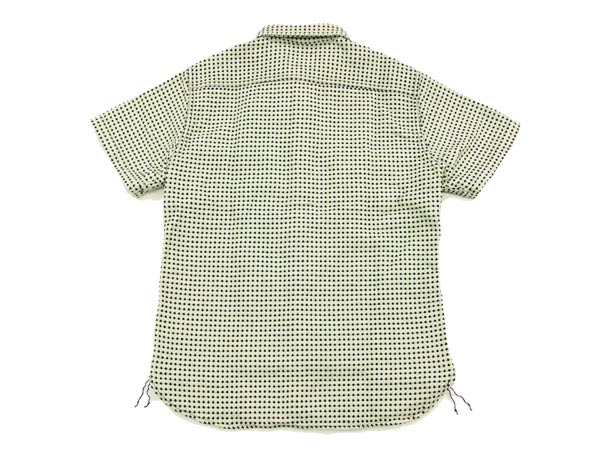 Studio D'artisan Dobby Shirt 5587 Men's Short Sleeve Shirts from Japan Off-White