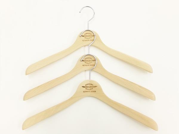 toys mccoy wood clothes hanger tma1632 menu0027s wooden hangers 3 pack