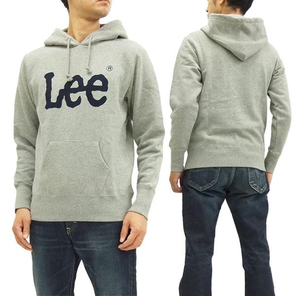 premium selection e34da f2b9f Lee Pullover Hoodie LS7322 Men's Hooded Sweatshirt Gray