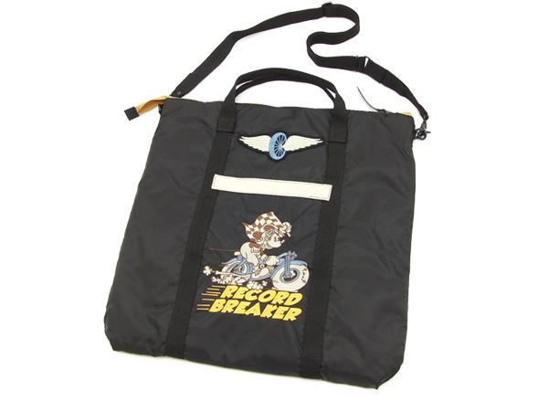 トイズマッコイ TMA1716 ヘルメットバッグ ミッキーマウス メンズ ショルダーバッグ ブラック 新品