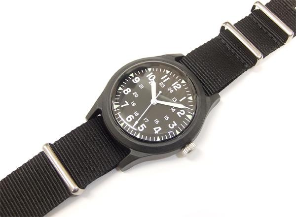 アルファ ベトナムウォッチ ALW-46374 ALPHA 腕時計 メンズ ミリタリーウォッチ ブラック×ブラック 新品