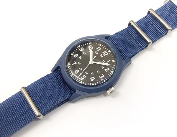 アルファ ベトナムウォッチ ALW-46374 ALPHA 腕時計 メンズ ミリタリーウォッチ ブラック×ブルー 新品