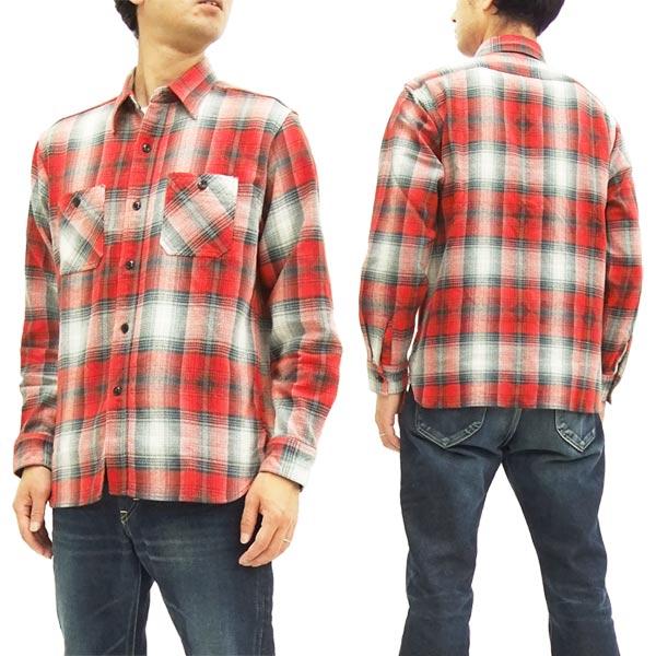 e1fdca57 Sugar Cane Twill Check Work Shirt SC27706 Men's Plaid Long Sleeve Shirt