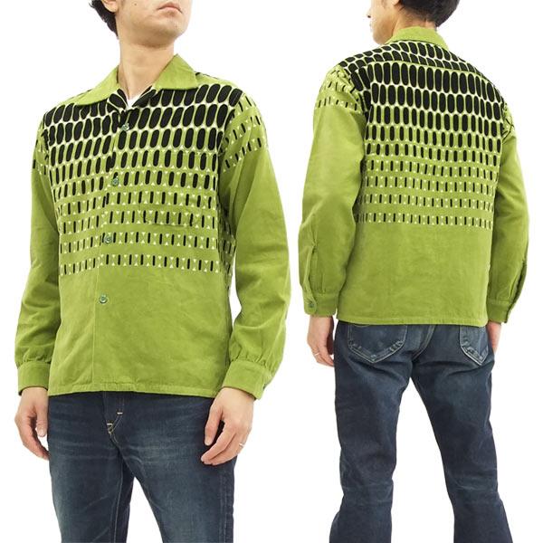 スタイルアイズ コーデュロイスポーツシャツ SE27724 東洋エンタープライズ メンズ 長袖シャツ #143グリーン 新品