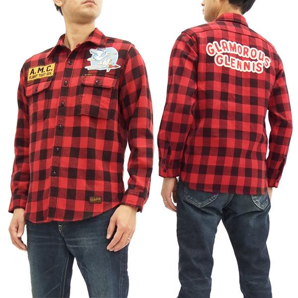 トイズマッコイ TMS1714 バッファローチェックシャツ TOYS McCOY メンズ 長袖シャツ 新品