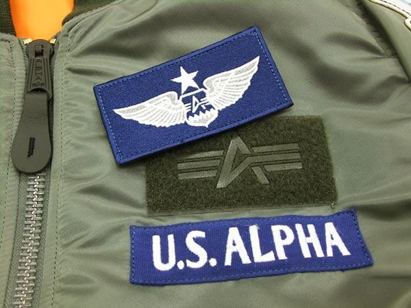 Alpha Industries Men's MA-1 Flight Jacket USAF SAC Patch TA0110 Flying  Bomber Jacket V Gray