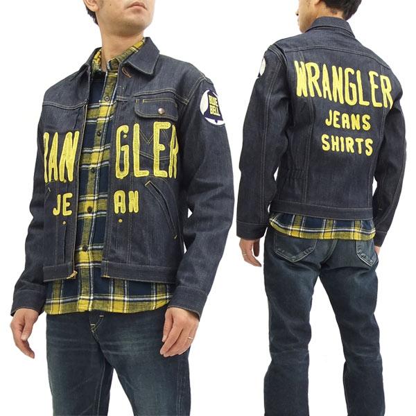 ラングラー ブルーベル 11MJZ チャンピオンジャケット WM1791-989 Wrangler メンズ 刺繍 Gジャン 生デニム 新品