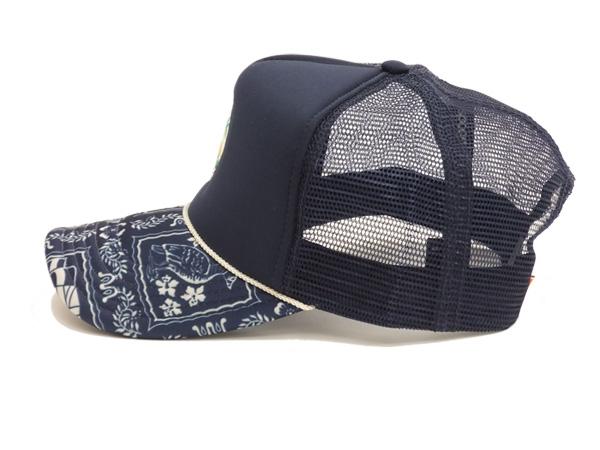954167b6f Reyn Spooner Men's Hawaii Wahine Sailor Cap Mesh Cap Mesh Back Hat 501-5459  Navy Blue