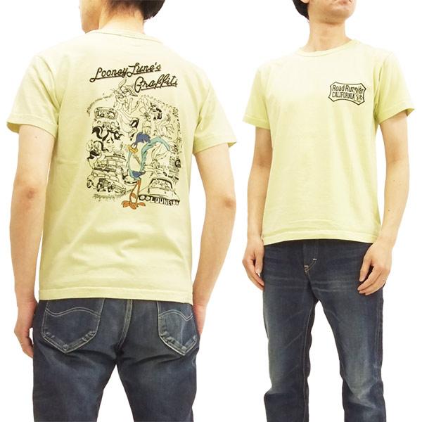 ロードランナー Tシャツ CH78004 Cheswick チェスウィック 東洋 メンズ 半袖tee #155イエロー 新品
