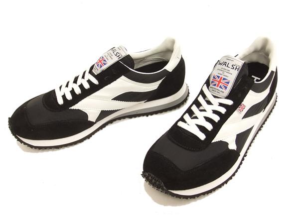 WALSH ウォルシュ メンズ スニーカー TORNADE シューズ 靴 IM-00106 TOR01393 ブラック 新品