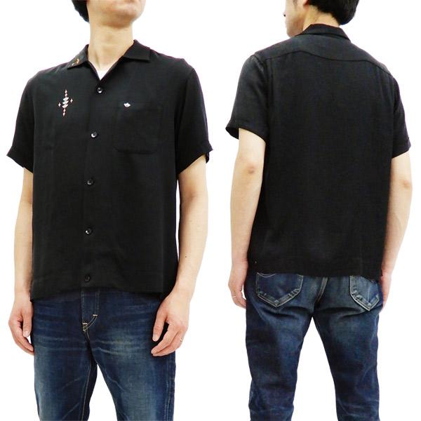 キングルイ ボウリングシャツ KL37834 King Louie 東洋 メンズ 半袖 ボーリングシャツ ブラック 新品