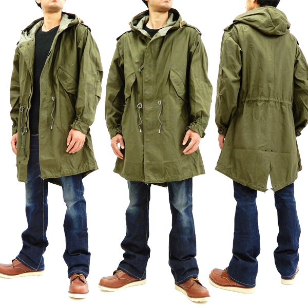 Pine-Avenue Clothes shop  Buzz Rickson Men s U.S. Army M-51 Fishtail ... d338845ea25