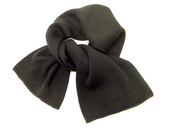 バズリクソンズ ウィリアム・ギブソン BR02561 ウール スカーフ メンズ ミリタリー マフラー ブラック 新品