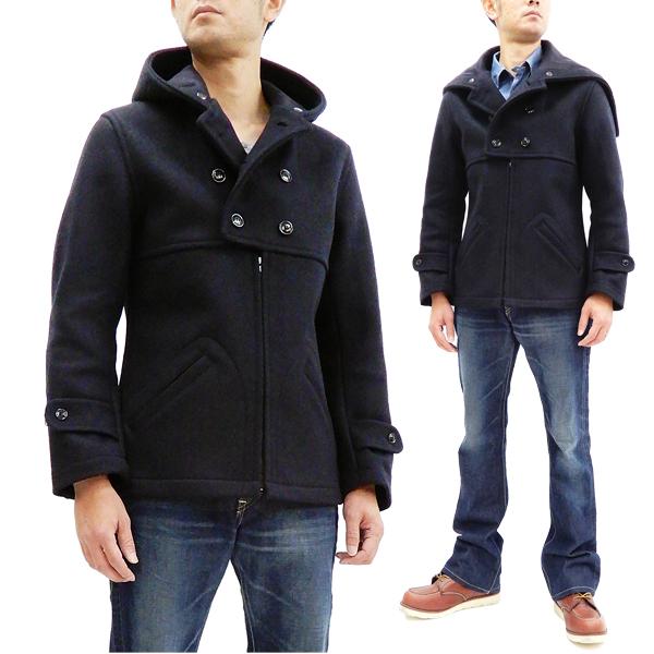 a95a3eaa2c Mister Freedom Sugar Cane Hudson Jacket Men s MFSC Wool Melton Jacket  SC14240