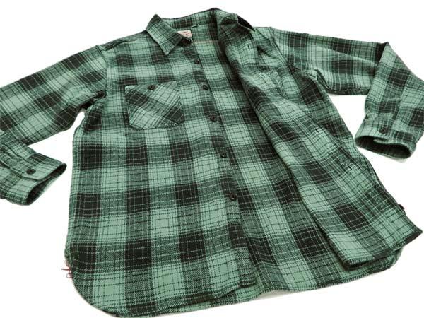 Sugar Cane Mens Casual Modern Fit Plaid Check Work Shirt Long Sleeve SC27962