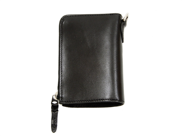 55532b56880e Tedman Men's Casual Zip Around Leather Short Wallet Made in Japan TDW-260  Black