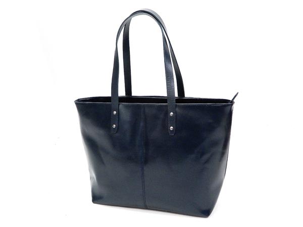 メンズ レザートートバッグ ソルト・アンド・シュガー 牛革製 トートバッグ 鞄 PI-3243 ネイビー 新品