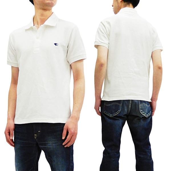 フェローズ ポロシャツ PPS1 Pherrow's Pherrows 定番 鹿の子 メンズ 半袖 POLO オフ白 新品